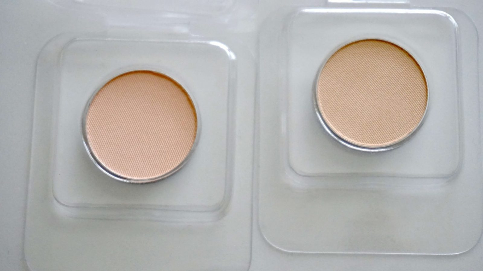 Peachsicle and Peach Vanilla eye shadows