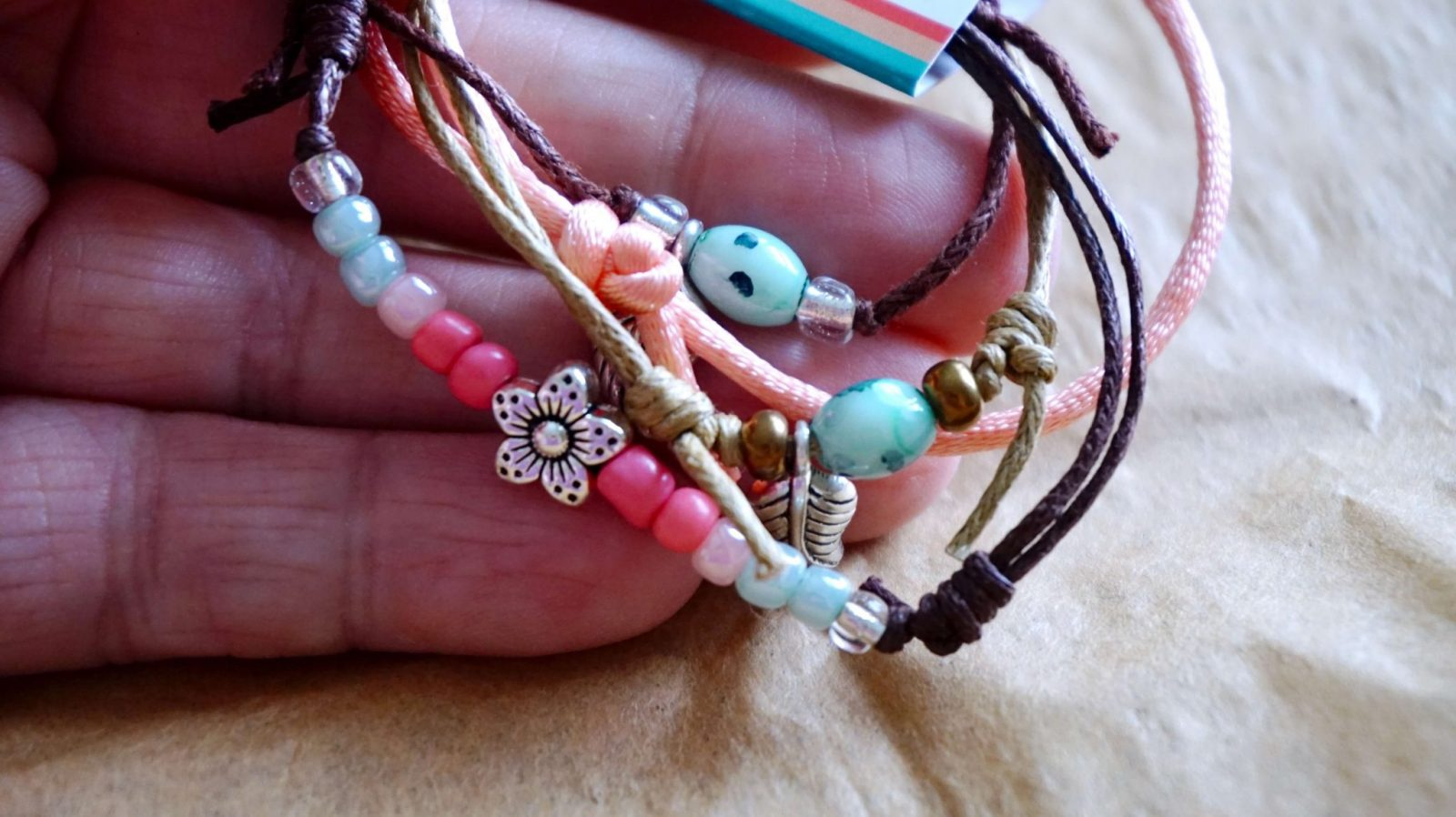 Up Close Photo of Bracelet Set from O Yeah