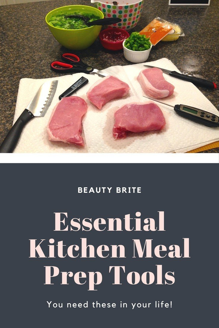 Essential kitchen meal prep tools beauty brite for Kitchen pro smart cutter