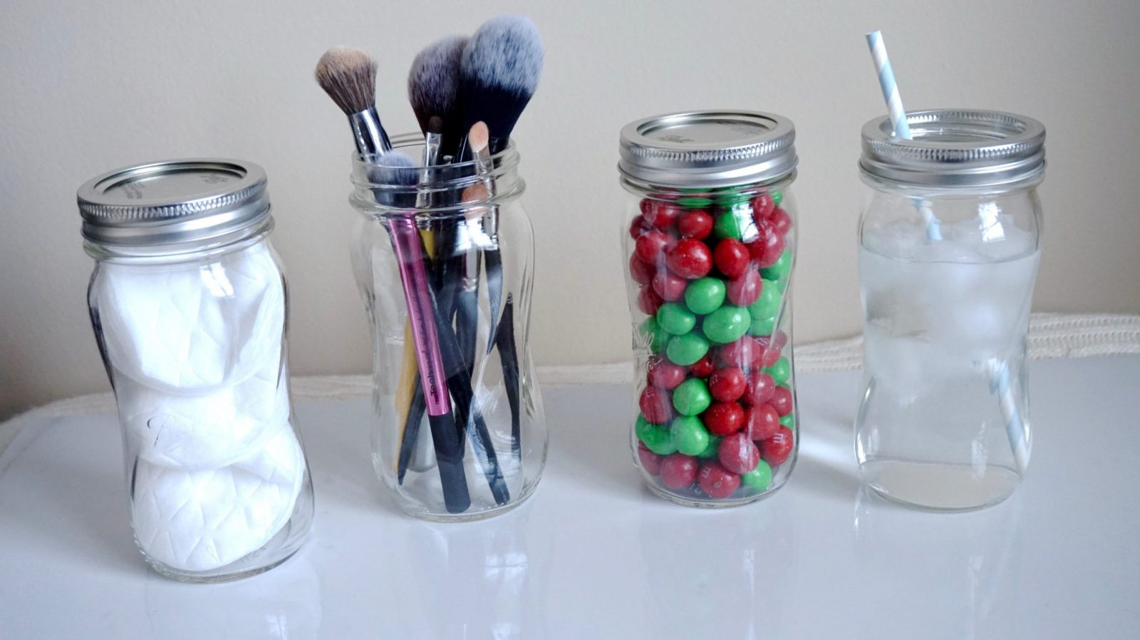 Different ways to use Mason Jars